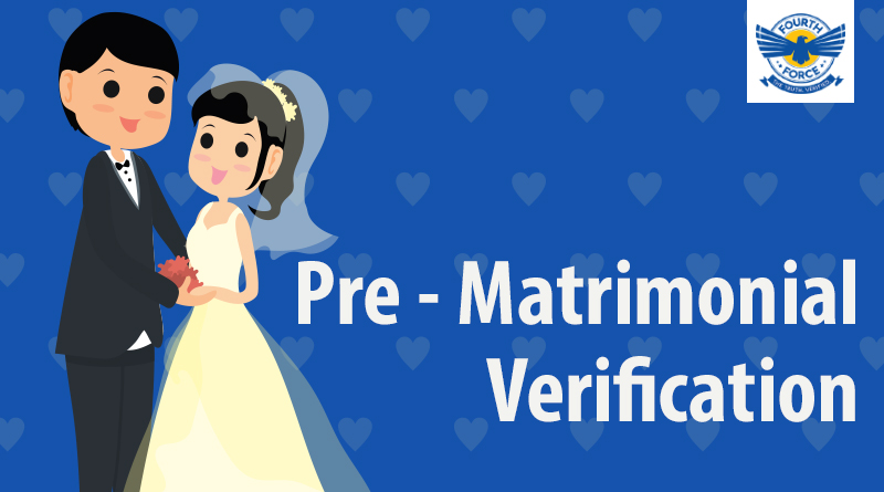 Fourth Force Pre-Matrimonial Investigation Services