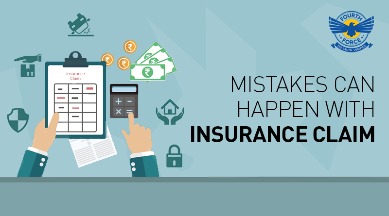 Mistakes can happen with Insurance Claim