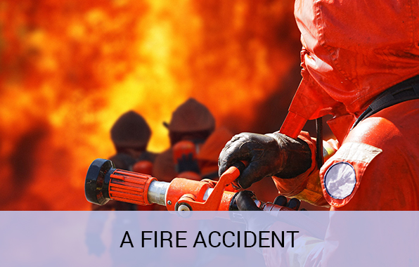 Fire Accident Claim Insurance Verification